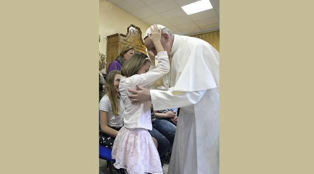 El amor que Jesucristo invita a compartir, hecho signo en una imagen plena de ternura