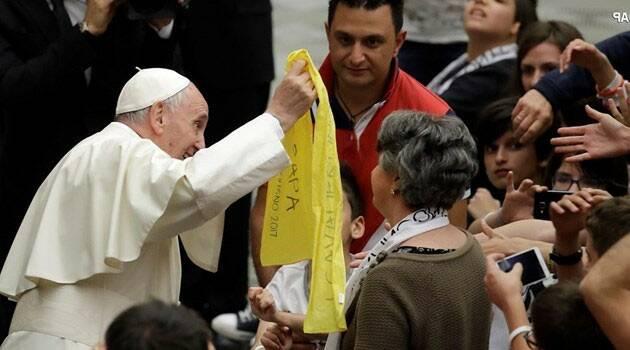 """""""¡A cambiar el mundo con las pequeñas cosas de cada día!"""" alienta el Santo Padre, Papa Francisco"""