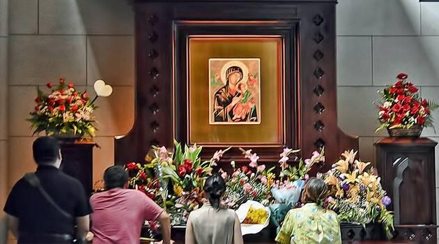 Aunque no eran católicos acudieron a la Virgen del Perpetuo Socorro y obtuvieron mucho más de lo que pedían - Portaluz
